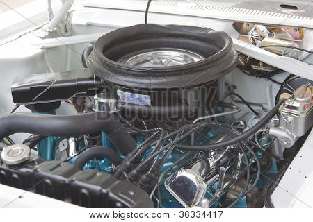 1969 Rambler Scrambler Engine