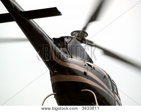 Helicopter'S Tail Close-Up