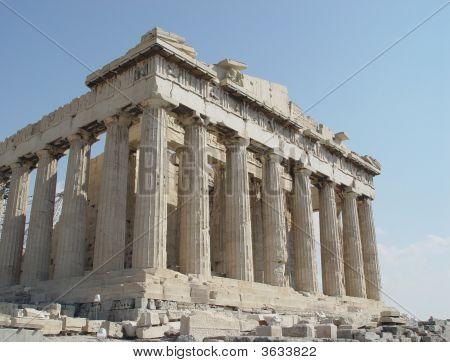 Partenón templo de Atenea