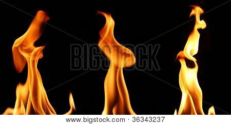Burning Fire Flames