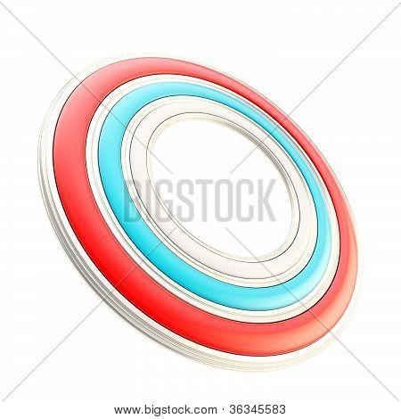Copyspace Circular Round Frame Background