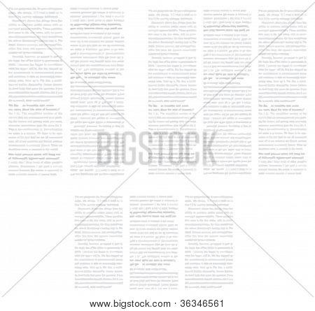 Hintergrund In Form der Zeitungsseite