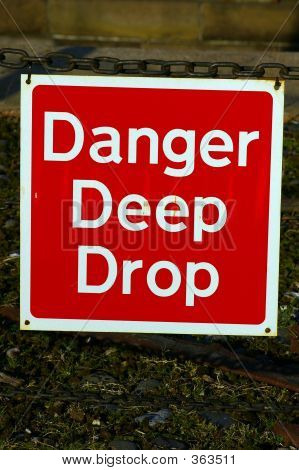 Danger Deep Drop 01