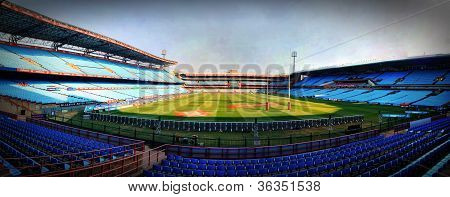 Loftus Versfeld Rugby Stadium Before Match