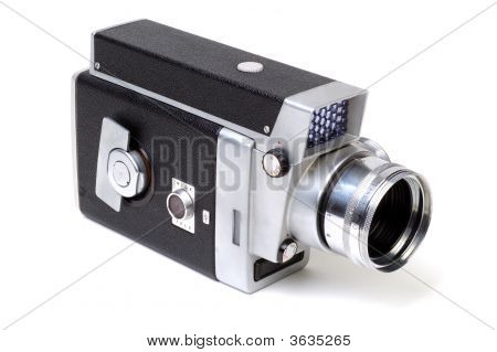 Old 8Mm Movie Camera