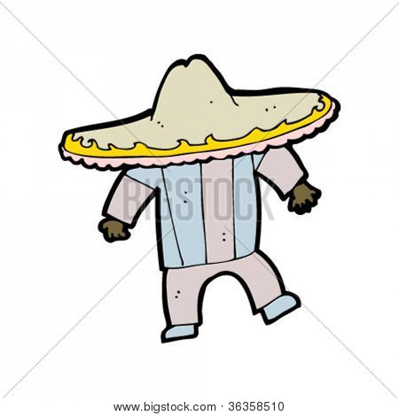 mexican man cartoon
