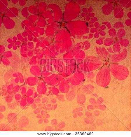 Blumen Hintergrund und Design-element
