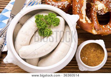 bavarian weisswurst breakfast