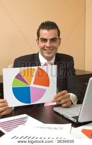 Businessman At Presentation