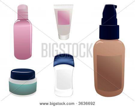 Kosmetik-Flaschen