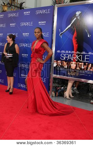 Los Angeles - AUG 16:  Tika Sumpter arrives at the