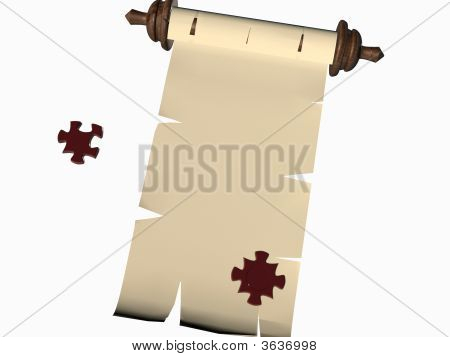 Puzzle-Scroll