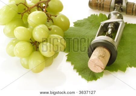 Corkscrew With Wine