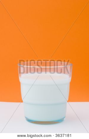 A Glass Of Whole Milk