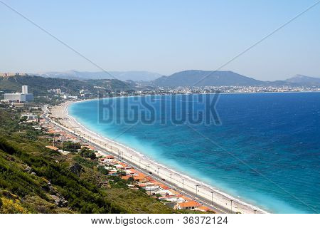 Kritika coast of Rhodes,Greece