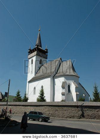 Old Church In Transcarpathia