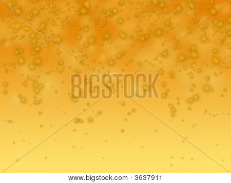 Bubble Orange Background