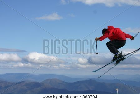 Big Air Skiing