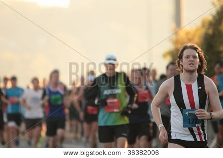 "Brisbane, Australia - September 02 : Unidentified Runners  Participating In The ""bridge To Brisbane"""