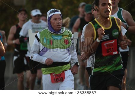 Brisbane, Australia - September 02 : Unidentified Runners  Participating In The