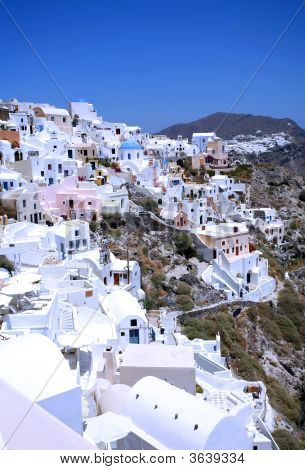 Oia Village, Santorini, Greece