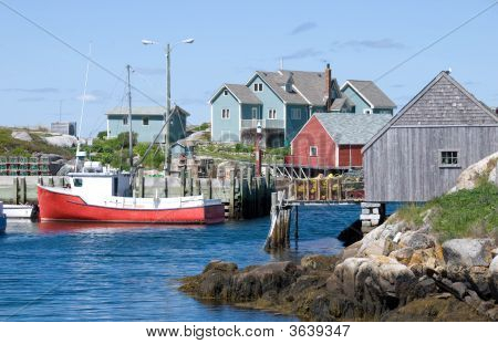 Famous Peggy's Cove
