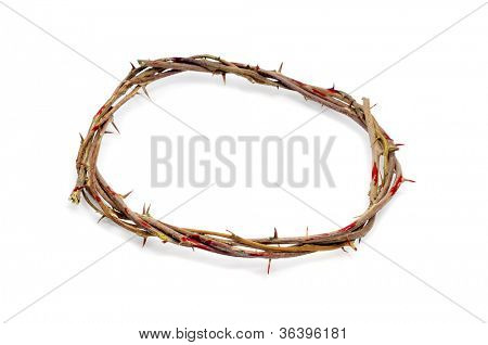 a representation of the crown of thorns of Jesus Christ