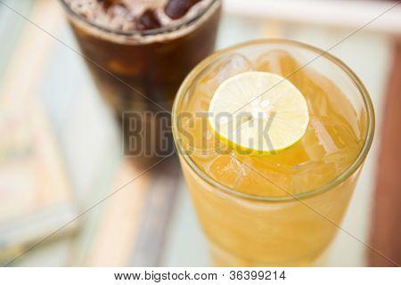 Aromatic ice tea