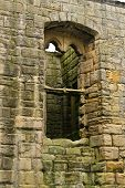 Ruins of Warkworth Castle