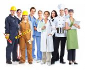 picture of enterprise  - Group of industrial workers - JPG