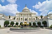 foto of politician  - US Capitol Building in Washington DC United States - JPG
