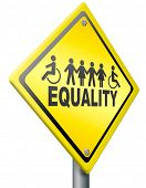 stock photo of fellowship  - equality - JPG