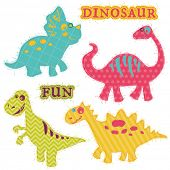 picture of dinosaurus  - Scrapbook Design Elements  - JPG