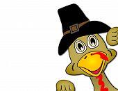Thanksgiving Turkey Face