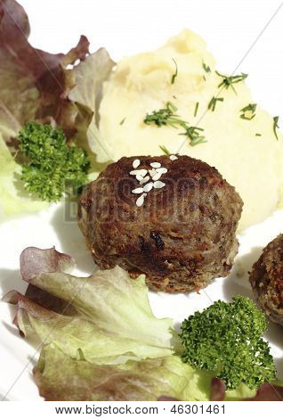 Roast  Rissoles