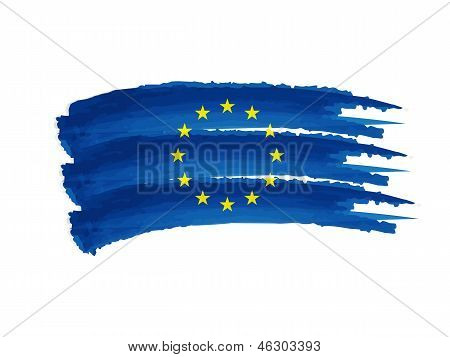 European Union Flag Drawing