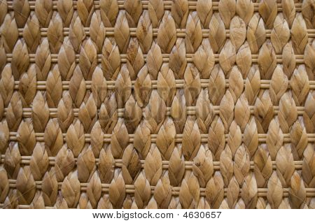 Texture - Brown Woven Wicker