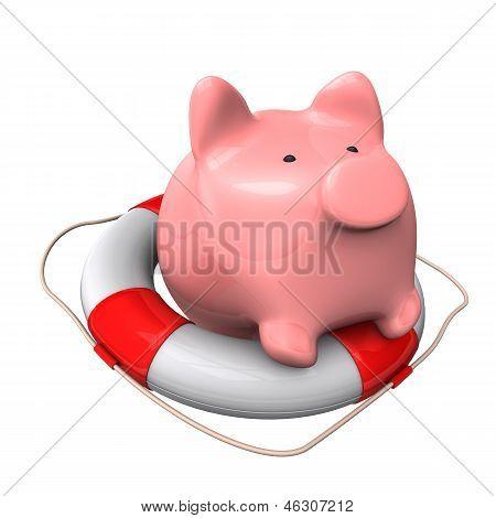 Piggy Bank Lifebelt