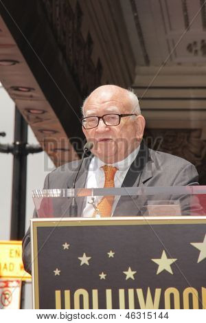 LOS ANGELES - MAY 24:  Ed Asner at the ceremony bestowing Olympia Dukakis with a Star on the Hollywood Walk of Fame at the Hollywood Walk of Fame on May 24, 2013 in Los Angeles, CA