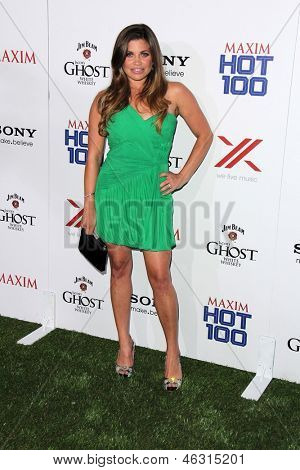 LOS ANGELES - MAY 15:  Danielle Fishel arrives at the 2013 Maxim Hot 100 Party at the Vanguard on May 15, 2013 in Los Angeles, CA