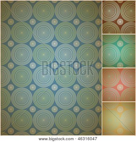 Seamless geometric background wall paper
