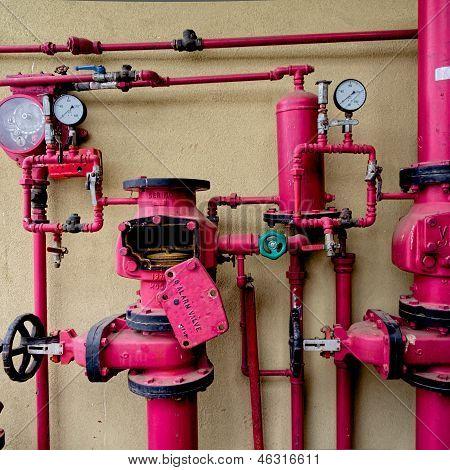 Old Sprinkler Alarm System