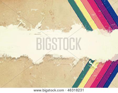 Retro Color Background