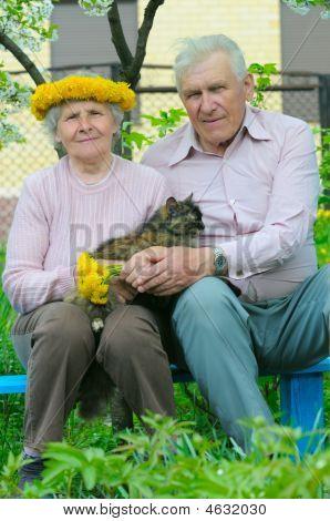 Two Pretty Elderly Peoples