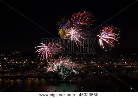 Portland Fourth of July Fireworks