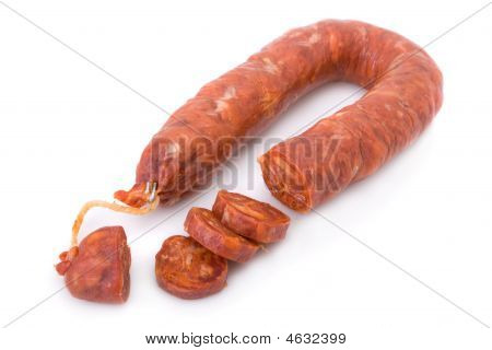 Sliced Iberian Chorizo From Barrancos