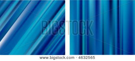 Blue Lines Grad Mesh