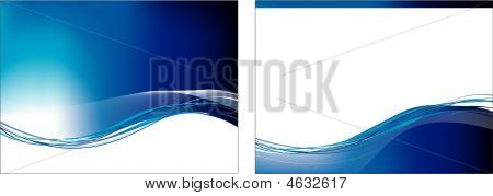 Swoosh conjunto azul X 2