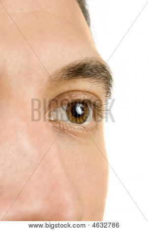 Young Man Eye