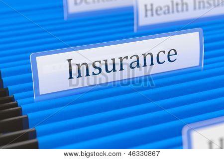 Insurance File Folder